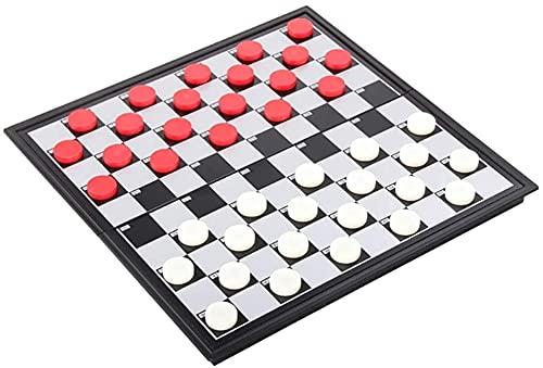 Zhiding Internationale Schach-Set-Checker-Falten-Schachbrett-Stücke Backgammon-Reisebranchen-Spiele-Schachbrett