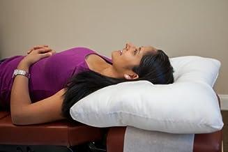 وسادة عنق Arc4life للرقبة لدعم النوم - وسائد سرير متينة قياسية للنوم على الجانب والظهر لآلام الرقبة والكتف (وسادة مقاس متو...