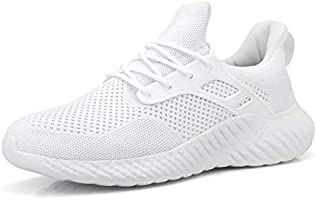 Footfox Womens Slip on Sneakers Lightweight Comfortable Mesh Casual Sneakers Sports Gym Athletic Walking Shoes