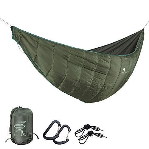 GEERTOP Portable Hammock Quilt Ultralight 3 Seasons Hammock Underquilt Warm Essential Outdoor Survival Gear