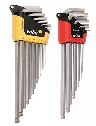 Power & Hand Tools Business, Industry & Science Wiha SB 366BE HZ13 13-Piece Torx® Ballended Spanner Set in Ergostar Case