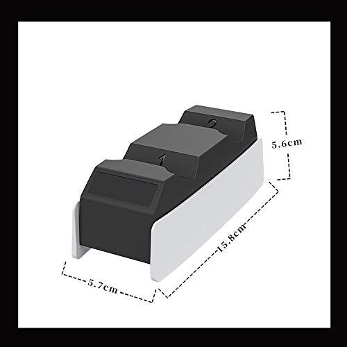 Stazione Di Ricarica Per Controller Ps5, Caricatore Doppio Controller Ps5, Caricatore Controller Ps5, Dock Di Ricarica Per Controller Ps5, Controller Ps5 Doppio Veloce