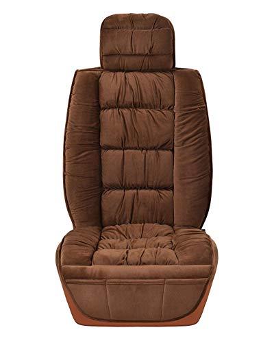 Kurzer Plüsch Einzelsitzbezug universal Sitzbezüge für Auto Kaffee 1 Stück