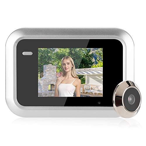 Mirilla para Puerta, Visor de Puerta con cámara para Puerta con cámara Visor de Mirilla para Puerta Frontal