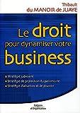 Le droit pour dynamiser votre business - Strategie judiciaire, strategie de protection du patrimoine, statégie d'alliances et de pouvoir