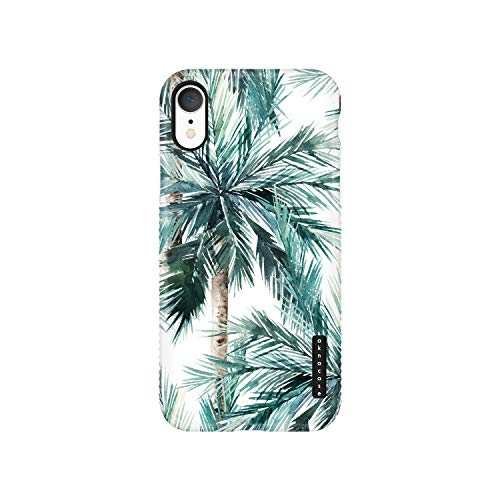 iPhone XR Case Tropical Leaf, Akna Sili-Tastic Series High Impact Silicon Cover with Full HD+ Graphics for iPhone XR (Graphic 101764-U.S)