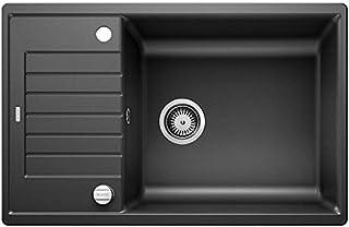 Blanco 铂浪高 ZIA 厨房水槽 亮黑色 60 cm Unterschrank