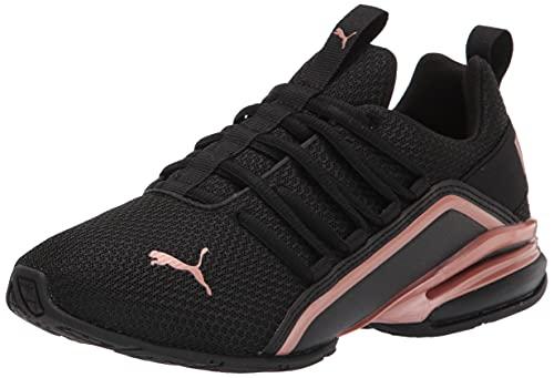 PUMA Axelion, Zapatillas para Correr Mujer, Black Rose Gold, 37.5 EU