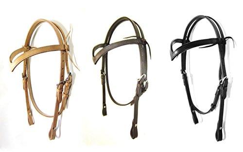 PS Pferdeartikel V-Zaum in 3 Farben - für gebisslose Zäumungen Farbe Schokobraun