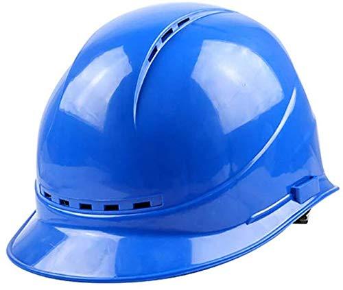 Casco de trabajo Casco de seguridad ajustable - Casco de construcción con cincha de 4 puntos, Casco de trabajador de construcción con casco ajustable