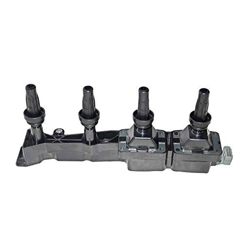 SCSN Bobina de encendido Pack Riel para motor 1.6 gasolina Flex-Fuel 96363378 5970.80 5970.99 0000597080 9636337880