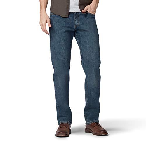 Lee Herren Big & Tall Regular Fit Straight Leg Jeans, Chief, 58W / 30L