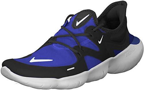 Nike Men's Free Rn 5.0 Competition Running Shoes, Multicolour (Racer Blue/Black/White 402), 13 UK