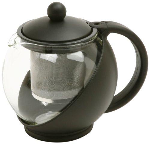 Norpro 821E Eclipse 3-Cup Teapot, Black