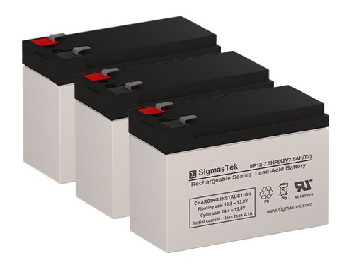 Razor EcoSmart Metro 12 Volt 7.5 AmpH Replacement Scooter Batteries - Set of 3