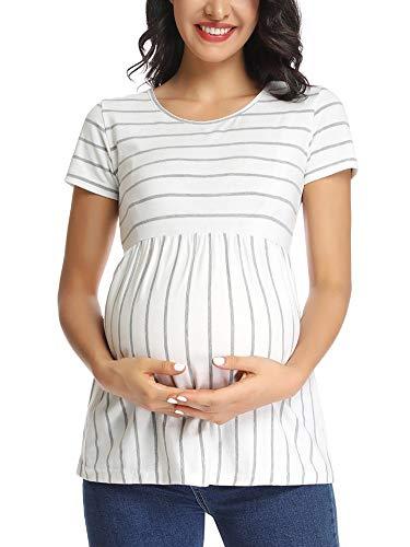 Jezero Women's Maternity Tops Sh...