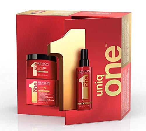 REVLON PROFESSIONAL Le Coffret Edition Spéciale Spray sans rinçage Rouge, 150 ml + Super masque, 300 ml