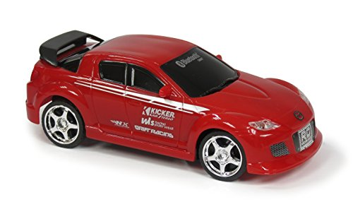 JC Toys Bluetooth Controlled Turbo Racers Mazda Rx-8 Car, Red