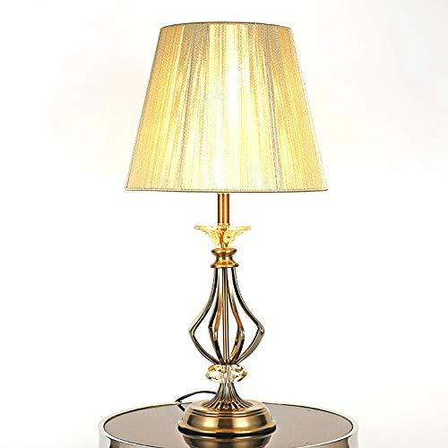 FAGavin Lámpara de mesa personalizada de lujo de la moda de cristal doblado tubo lámpara de mesa moderna minimalista dormitorio mesita de noche sala de estar estudio lámpara de mesa
