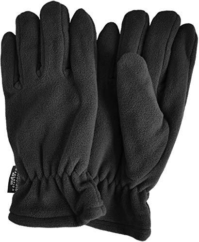 normani Thinsulate Herren Fleece Handschuhe mit Fleecefütterung - schön warm für kalte Tage Farbe Schwarz Größe XXL