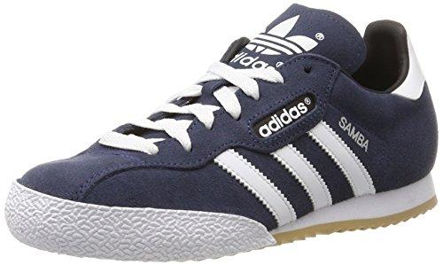 adidas Herren Samba Super Suede Sneaker, Blau (Navy), 43 1/3 EU