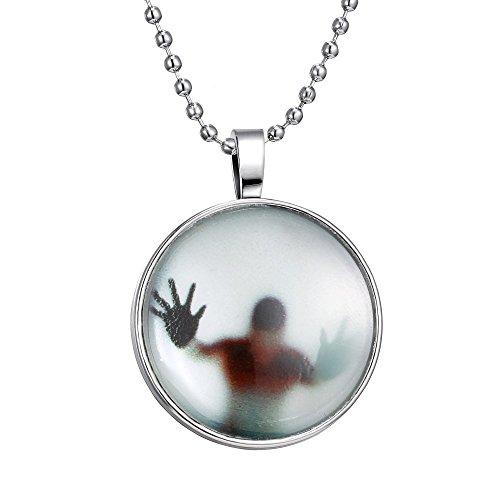 Newest Shadow GN1 - Collar de cristal para hombre