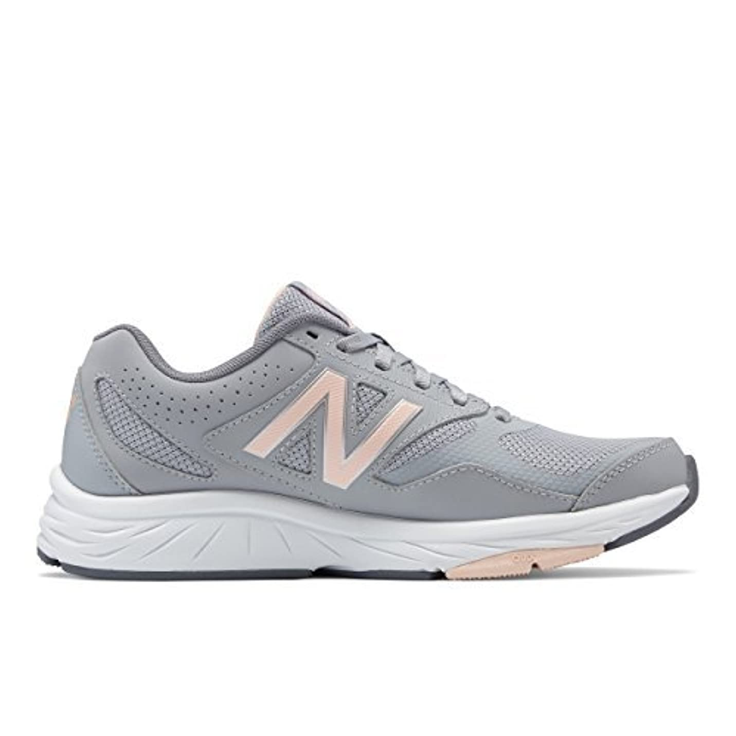 でペリスコープスキップNew Balance Women's WX824 Training Shoe Flint Gray 9.5 B US [並行輸入品]