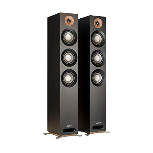 Jamo Studio Series S809 Floorstanding Speaker Pair (Black)