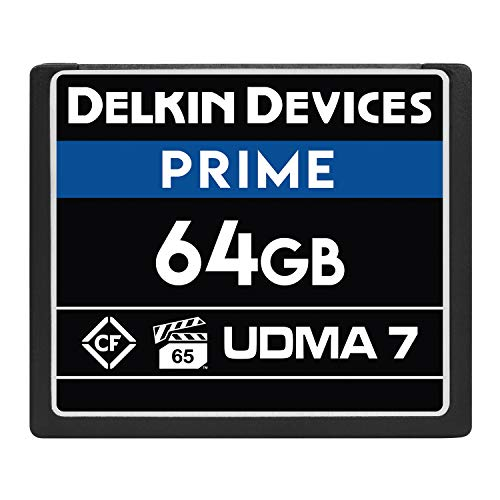 Delkin Devices 64GB Prime CompactFlash VPG-65 Memory Card