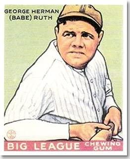 1933 goudey baseball cards reprint