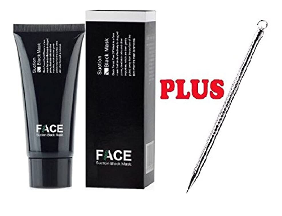 フラッシュのように素早く彼女の一般faceapeel blackhead acne remover facial mask 50 ml professional blackhead tool