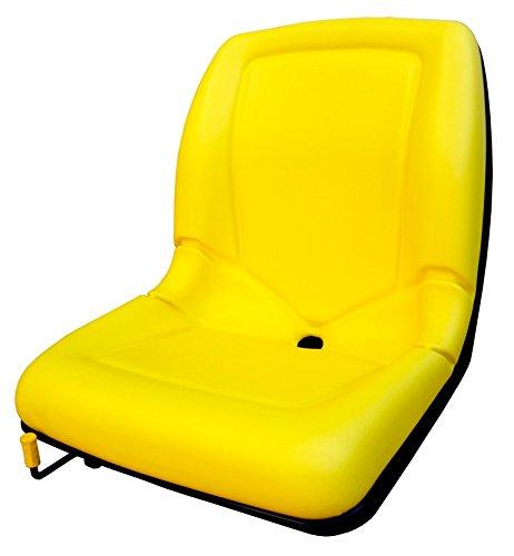KLARA SEATS KlaraSeats kompatibel mit John Deere Sitzschale Traktorsitz Schleppersitz Rasentraktor Aufsitzmäher Gator Castel Garden