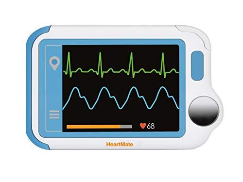 Trendmedic Heartmate Herzfrequenzmesser (Version 2020) EKG für Privat und Praxen, Farbdisplay. Zur einfachen Kontrolle des EKG\'s