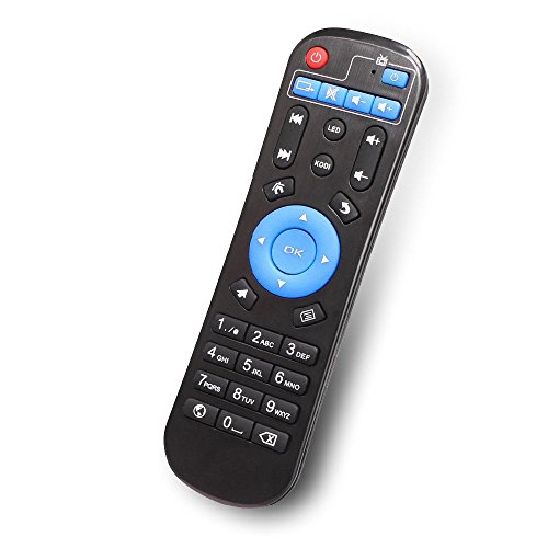 Replacement Remote Control for T95Z Plus, T95W Pro, T95U Pro, T95K Pro, T95V Pro, QBOX Amlogic S912 Android TV Box Remote Control for KODI Box IPTV Streaming Media Player