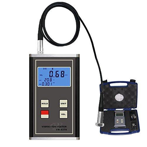 TR-Z-VM-6370 Digital Vibrationsmessgerät Schwingungsmesser Vibrationstester Vibrometer für beweglichen Maschinen 10 ~ 10KHz