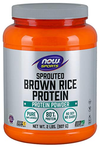 Evaxo Sprouted Brown Rice Protein - 2 pk. / 2 lbs. Pure Unflavored 80% Protein Protein is Vital to Hundreds of The Body's Most Basic Biological Functions.