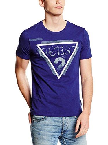 Guess SS RN Splinter G tee Camiseta, A741, S para Hombre