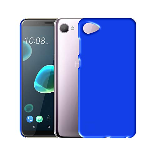 Case Creation Back case for HTC Desire 12 (2018),HTC Desire 12 2018 (5.50-inch) Matte Finish Back case Cover Guard Color - Royal Blue