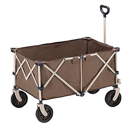 Garden Trolley Opvouwbare Rolwagen, Outdoor Draagbare Opbergtrolley Voor Picknick/Tuin/Reizen, Makkelijk Mee Te Nemen…