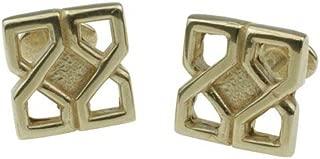 Pirantin Celtic Design 8th Wedding Anniversary Solid Bronze Cufflinks