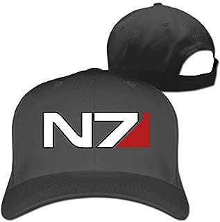 ALIZISHOP Mass Effect N7 Peaked Baseball Caps Hats for Unisex