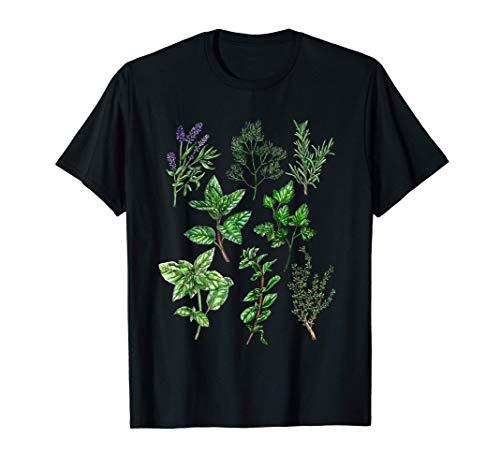 KRÄUTER // Basilikum, Dill, Lavendel, Minze & Oregano T-Shirt