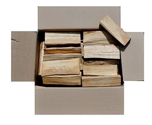 BlackSellig 120 Kg Brennholz Kaminholz Reine Buche ofenfertig kammergetrocknet in 25cm Länge aus Hessen, Keine Importware