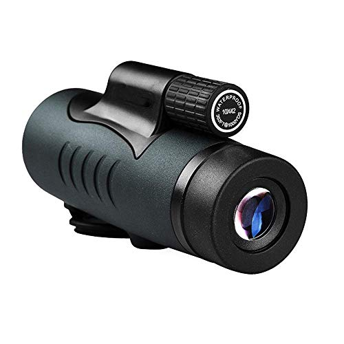 YO-TOKU Single Channel Telescope Monocular 10X42 Concert High Definition Night Vision mobiele telefoon camera Monocular Mirror Outdoor Verrekijkers Clear