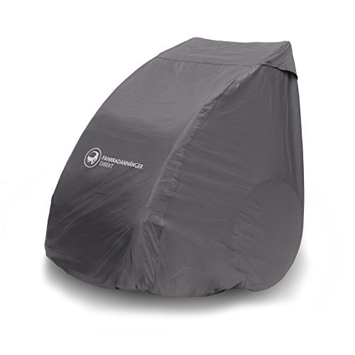 Bike Trailer Faltgarage für Fahrradanhänger (UV-Schutz, Wasserdicht), Universell, Schutzhülle für Alle Modelle