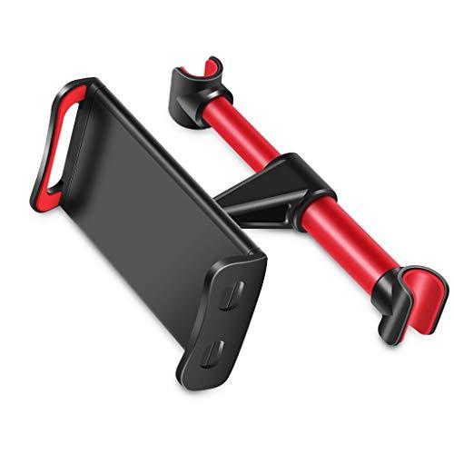 WXWJ houder voor tablet, hoofdsteun voor auto, compatibel met smartphones van 4 tot 12 inch/4-12 inch