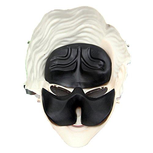 FunPa Máscara de Payaso de Halloween, Cosplay Máscara de Disfraces Suministros de Fiesta Máscara de Disfraces para Halloween