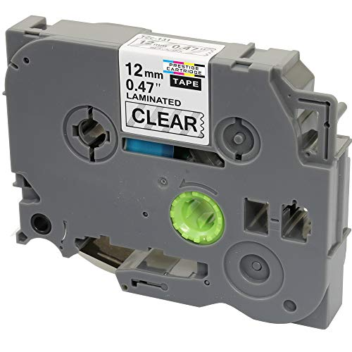 Compatible TZ131 Black on Clear Label Tape (12mm x 8m) for Brother P-Touch Serial Label Printing Machines