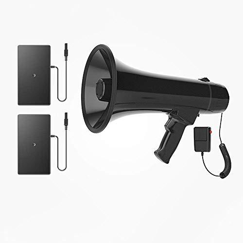 Zixin Tragbares Megaphon Lautsprecher Kompakt und Batterie betrieben mit 30 Watt Leistung, Mikrofon, PA-Sound for Cheerleading und die Polizei zu verwenden, B