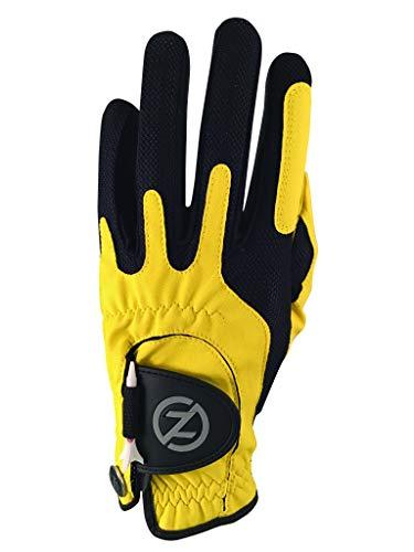 Zero Friction Guante de compresión de Golf, para Hombre, Talla única, Hombre, Color Amarillo, tamaño Talla única